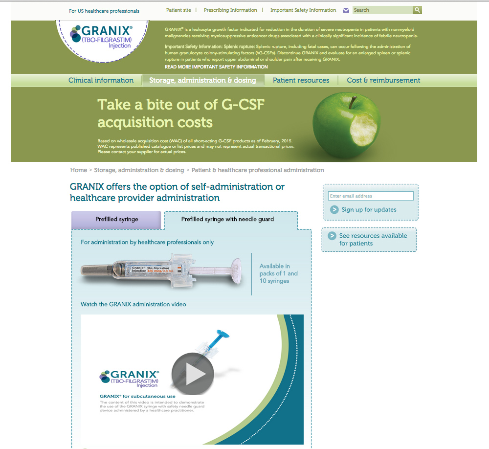 granix_hcp_website